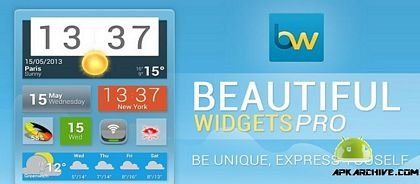 download Beautiful Widgets Pro apk