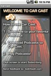 download Car Cast Podcast Player apk