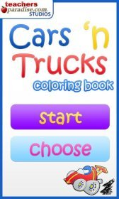 download Cars n Trucks Coloring Book apk