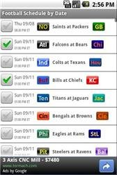 download Football Schedules U.S. Pro apk
