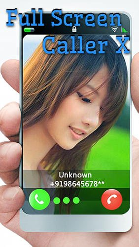 download Full screen caller X apk
