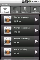 download Girl Sound apk