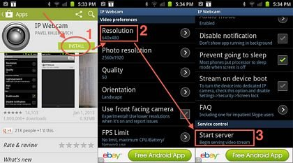download IP Webcam Pro apk