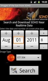 download Images of the Sun from SOHO apk