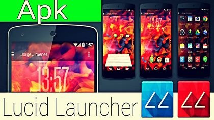 download Lucid Launcher Pro apk