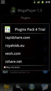 download MegaPlayer Pack4 Trial apk