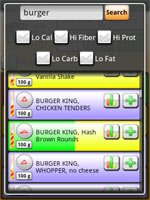download Mobile Kung Fu Personal Food Manager apk
