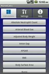 download NurseCalcs Free Trial apk