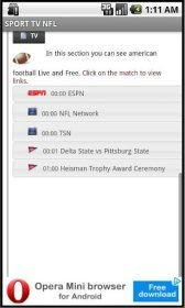 download SPORT TV NFL apk