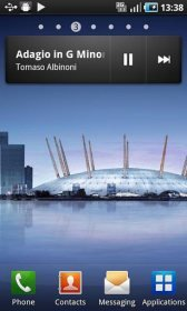 download Samsung Galaxy S music widget apk