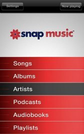 download Snap Music - Stream From PC apk