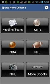 download Sports News Center 2 apk