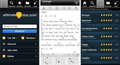 download Ultimate Guitar Tabs apk