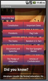download United States History free apk