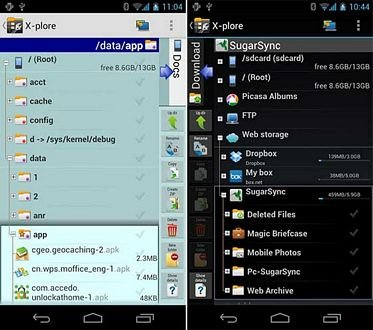 X plore File Manager Pro app for Android Download : Free