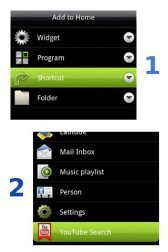 download YouTube Search Shortcut apk