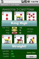 download Awesome 3-Card Poker apk