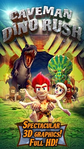 download Caveman dino rush apk
