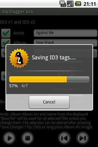 Music tag editor mp3 tagger, album art changer for android apk.