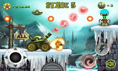 Planet in Contra game for Android Download : Free Android Games