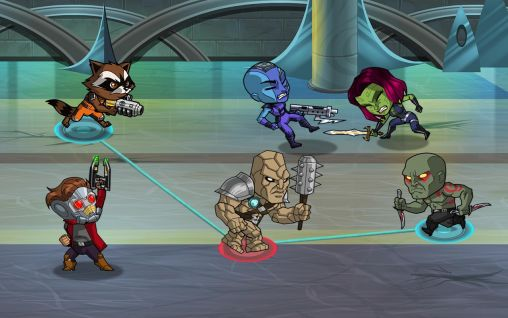 Guardians of the galaxy: The universal weapon game for