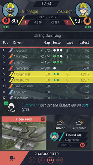 Motorsport manager gameplay ios / android proapk android ios.