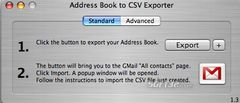 download Address Book to CSV Exporter mac