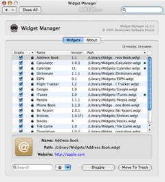 download Widget Manager mac