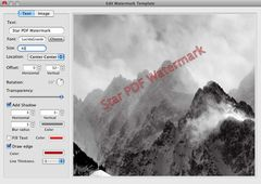 download Star PDF Watermark for Mac mac