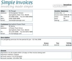 download Simple Invoices mac