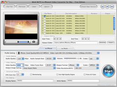 download WinX M2TS to iPhone 4 Converter for Mac mac
