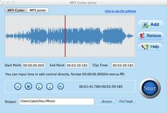 download Free MP3 Cutter Joiner for Mac mac