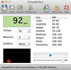 download TempoPerfect Metronome for Mac Free mac