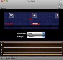 download PitchPerfect Guitar Tuner for Mac mac