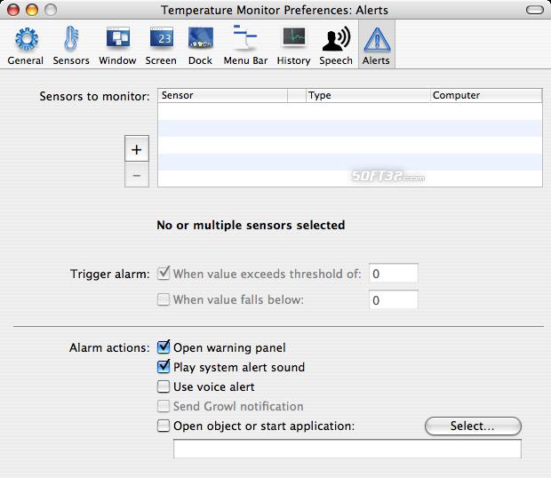 Temperature Monitor for Mac : FilesBear