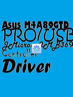 Asus M4A89GTD PRO/USB3 JMicron JMB36X Controller Driver