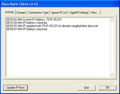download Dynu Basic Dynamic DNS Client