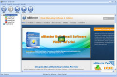 download uBlaster-Email Spider Pro Version