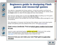 download Begginers guide to making Flash/JS games