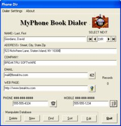 download BREAKTRU MyPhone Book Dialer