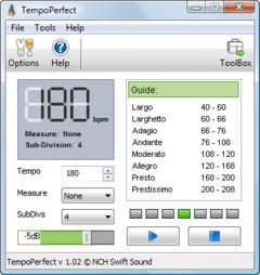 download TempoPerfect Computer Metronome
