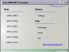 download Eusing Free WMA MP3 Converter