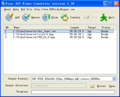 download DVDvideoRipper Free 3GP Video Converter