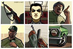 download GTA San Andreas Display Pictures