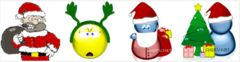 download Deluxe Christmas MSN Display Pictures