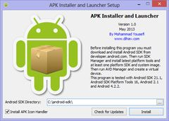 download APK Installer and Launcher