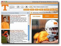 download Tennessee Vols Firefox Browser Theme