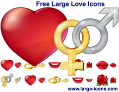 download Free Large Love Icons