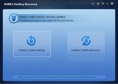 download AOMEI OneKey Recovery