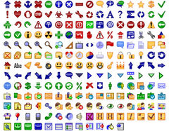 download 24x24 Free Button Icons